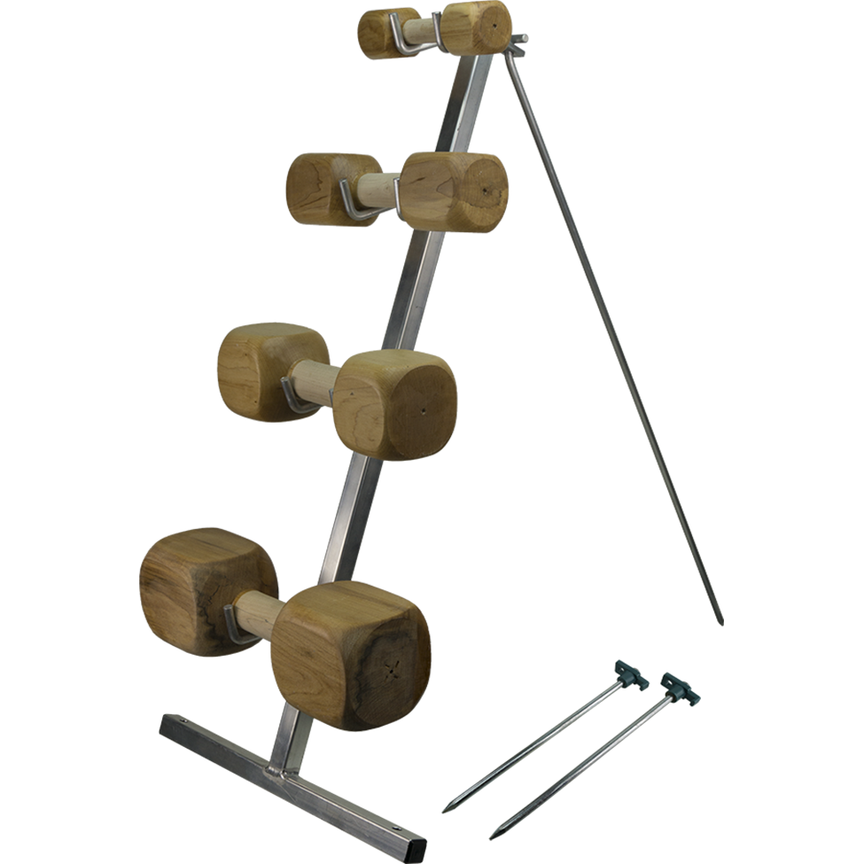 COLLAPSIBLE DUMBBELL RACK
