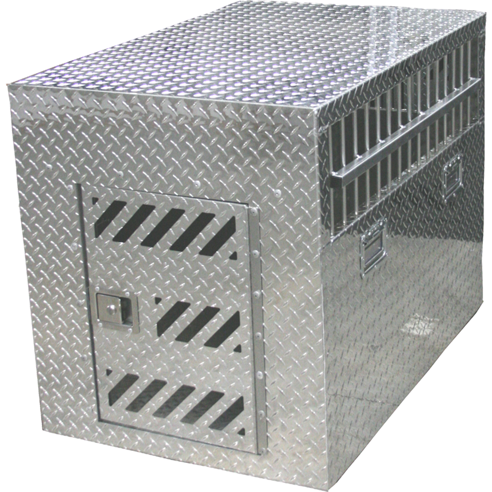 Deluxe Full Tread Aluminum Crate