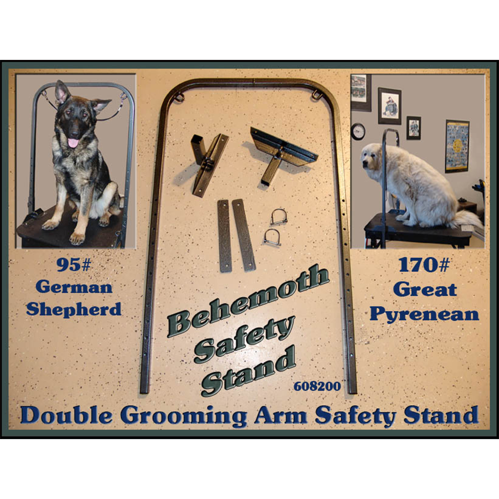DOUBLE GROOMING ARM SAFETY STAND
