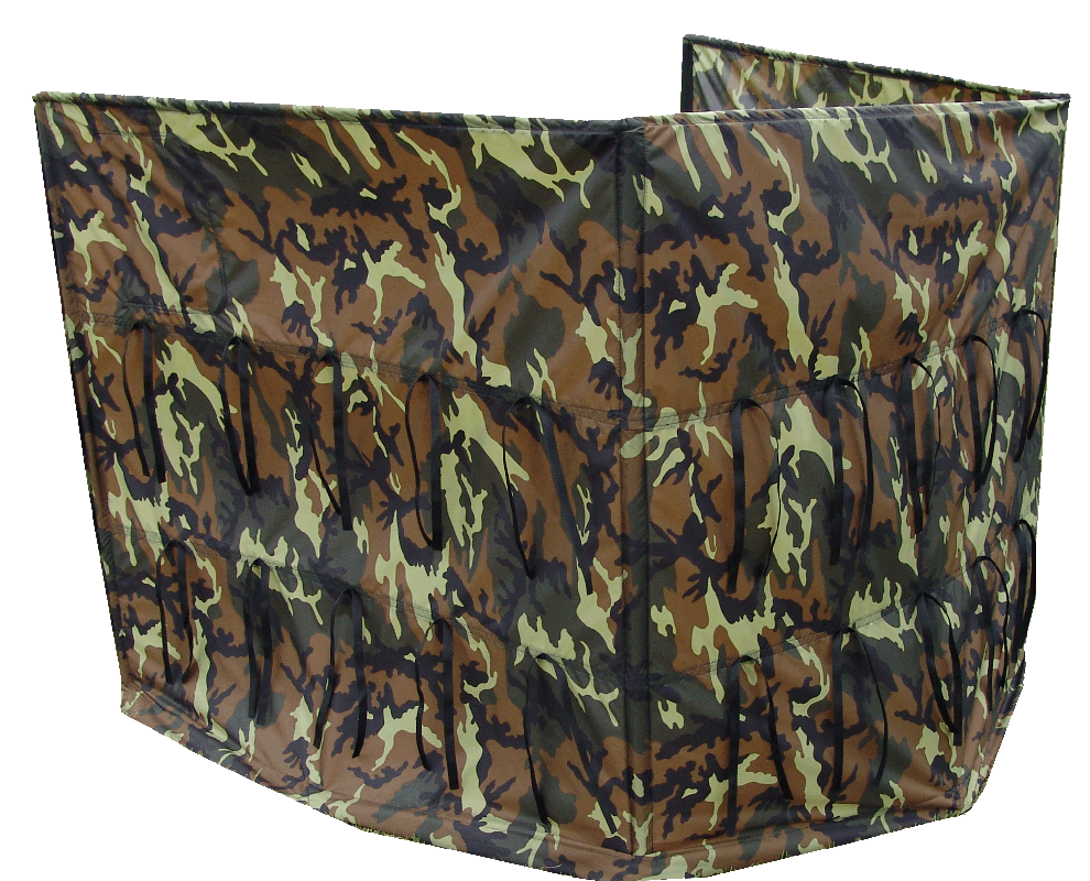 HUNTING DOG HOLDING BLIND 3 PANEL
